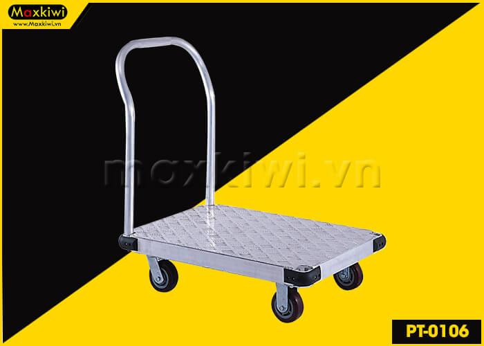 PT-0106 – sản phẩm xe đẩy hàng 4 bánh chất lượng thuộc loại lớn nhất thị trường
