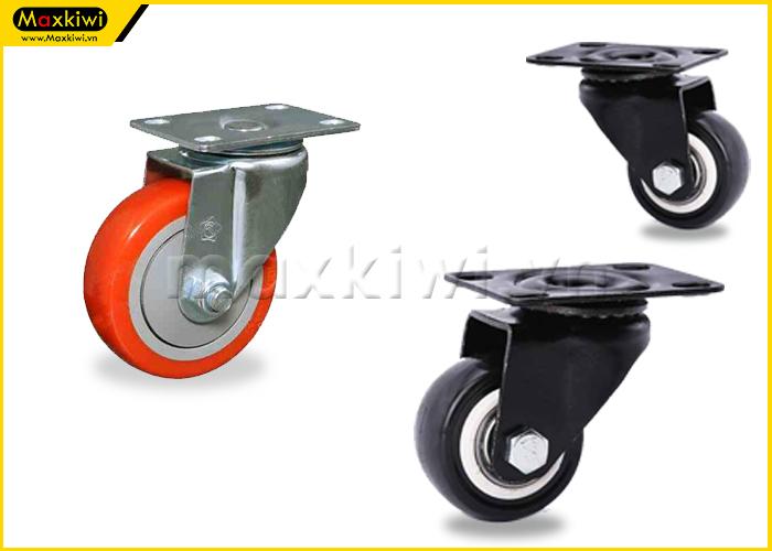 Bánh xe mini xoay 360 độ